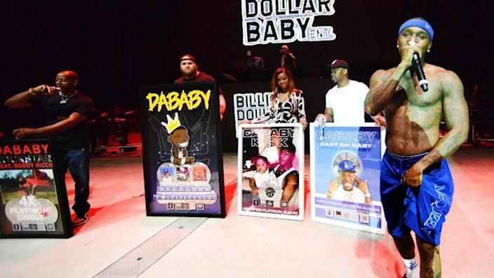 DaBaby + Friends Concert At The Orlando Amphitheater