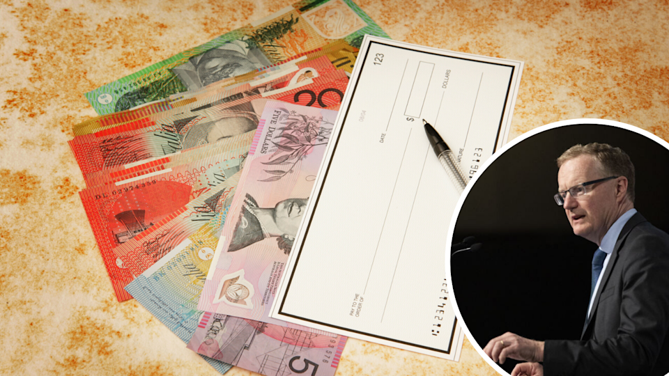 Cheques are about to become an. outdated form of payment, according to RBA Governor Philip Lowe. (Source: Getty)