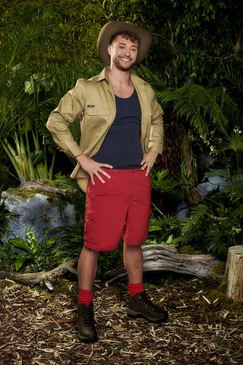 Myles Stephenson competed in the latest series of I'm A Celeb. (ITV)