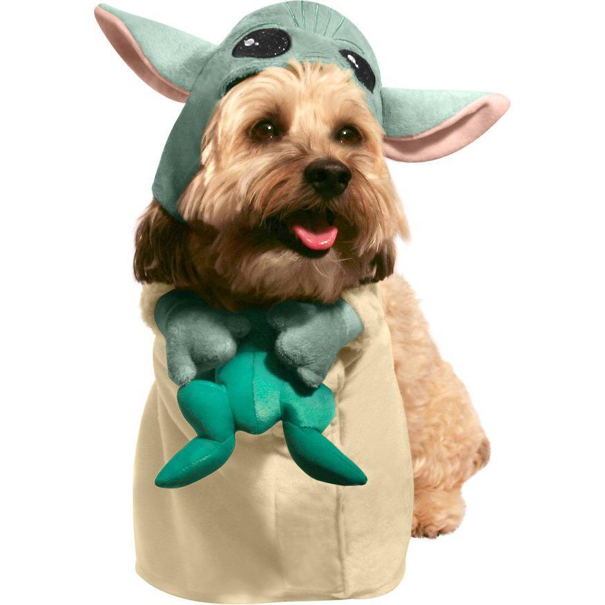 "<p>The only thing more precious than Baby Yoda is your dog dressed as Baby Yoda. </p> <p><strong>Buy it!</strong> The Child Walking Dog Costume, $29.99; <a href=""https://prf.hn/click/camref:1100l5eMx/pubref:polifemostpopulardogcostumeskbenderoct20/destination:https%3A%2F%2Fwww.chewy.com%2Frubies-costume-company-child-walking%2Fdp%2F253363"" rel=""nofollow noopener"" target=""_blank"" data-ylk=""slk:Chewy.com"" class=""link rapid-noclick-resp"">Chewy.com</a></p>"