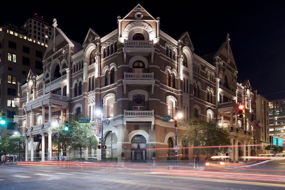 """<p> If you're prepared for a good scare, then take this 90-minute tour, which provides an evening excursion through Austin's haunted attractions, including the Driskill Hotel, as well as stories about infamous ghosts and murderers. <br></p><p><a class=""""link rapid-noclick-resp"""" href=""""https://go.redirectingat.com?id=74968X1596630&url=https%3A%2F%2Fwww.tripadvisor.com%2FAttractionProductReview-g30196-d12904899-Haunted_Austin_Walking_History_Tour-Austin_Texas.html&sref=https%3A%2F%2Fwww.redbookmag.com%2Flife%2Fg37623207%2Fghost-tours-near-me%2F"""" rel=""""nofollow noopener"""" target=""""_blank"""" data-ylk=""""slk:LEARN MORE"""">LEARN MORE</a></p>"""
