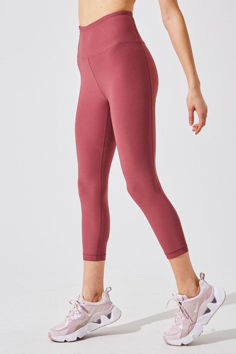 Dashing High Waisted Recycled Polyester Capri. Image via MPG Sport.