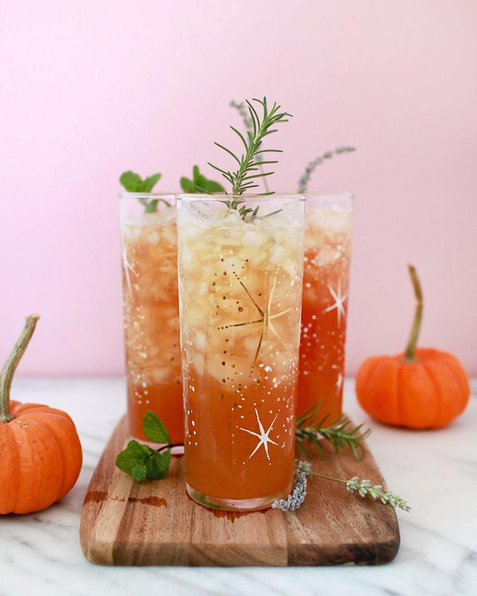"""<p>The secret ingredient for this magical fall drink is sparkling hard cider. Yum!</p><p><strong>Get the recipe at <a href=""""https://ohsobeautifulpaper.com/2017/10/the-stone-fence-fall-cocktail-recipe/"""" rel=""""nofollow noopener"""" target=""""_blank"""" data-ylk=""""slk:Oh So Beautiful Paper"""" class=""""link rapid-noclick-resp"""">Oh So Beautiful Paper</a>. </strong></p><p><a class=""""link rapid-noclick-resp"""" href=""""https://www.amazon.com/JoyJolt-Highball-14-2-Ounce-Drinking-Cocktail/dp/B01N1TTILG/?tag=syn-yahoo-20&ascsubtag=%5Bartid%7C2164.g.36792938%5Bsrc%7Cyahoo-us"""" rel=""""nofollow noopener"""" target=""""_blank"""" data-ylk=""""slk:SHOP HIGHBALL GLASSES"""">SHOP HIGHBALL GLASSES</a></p>"""