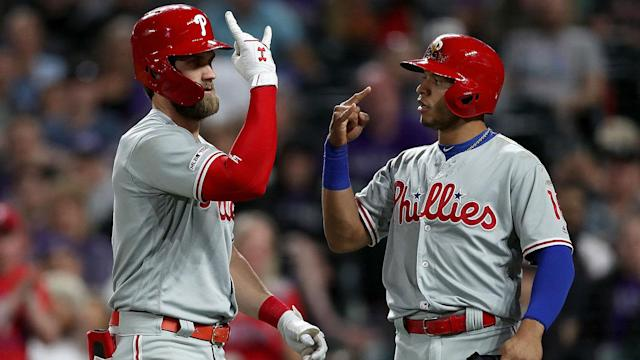 The Philadelphia Phillies (24-16) have now won 11 of their past 15 games, and they seem to have a different hero every night.