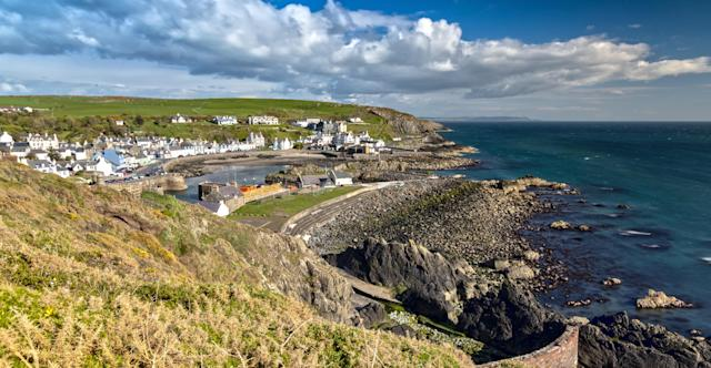 Portpatrick in Scotland is one of the starting points being considered for the bridge. (Getty)