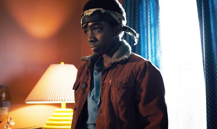 Caleb McLaughlin in 'Stranger Things' (Credit: Netflix)