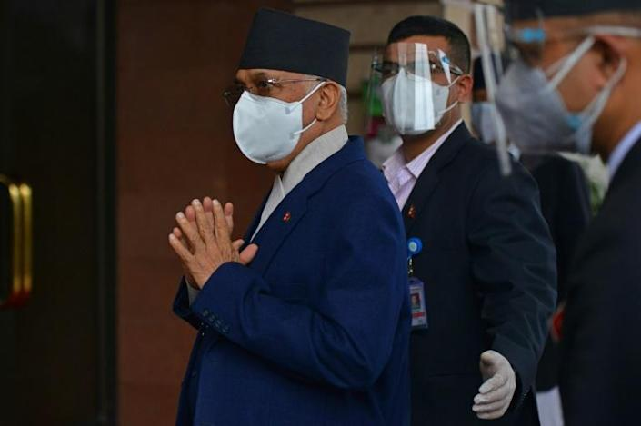 Nepal's Prime Minister KP Sharma Oli has faced fierce criticism over his handling of the pandemic