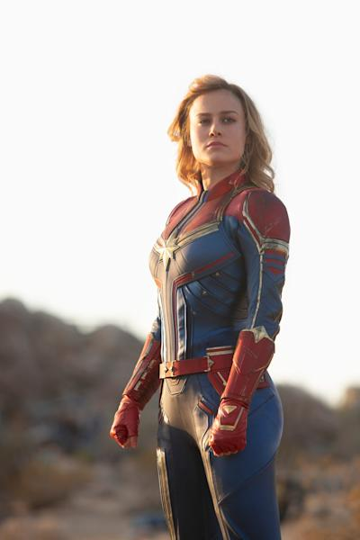 Marvel hosted a revealing set visit during the production of their '90s-set, female-fronted superhero movie.