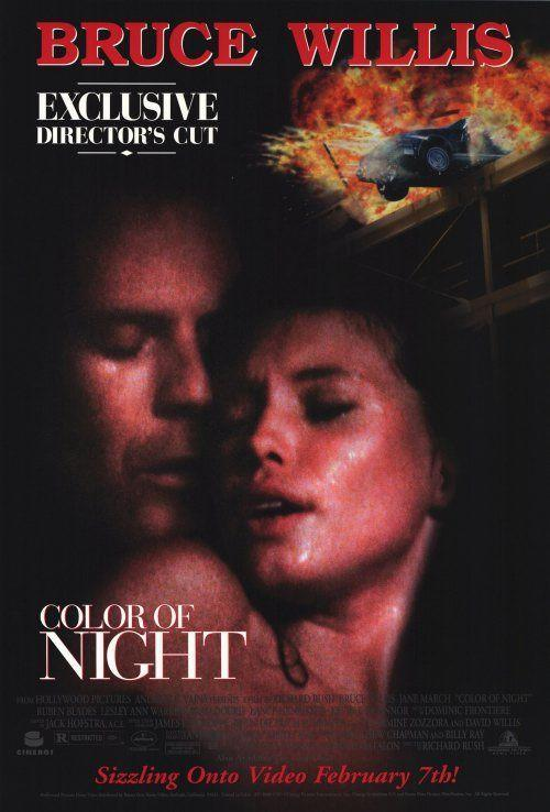 """<p>Not only did Bruce Willis have a full frontal nude sex scene in <em>Color of Night</em>, he had a full frontal nude sex scene while swimming around in a pool. And yes, everything is very ... floaty.</p><p><a class=""""link rapid-noclick-resp"""" href=""""https://www.amazon.com/Color-Night-Bruce-Willis/dp/B003V2QDSC?tag=syn-yahoo-20&ascsubtag=%5Bartid%7C10063.g.22564723%5Bsrc%7Cyahoo-us"""" rel=""""nofollow noopener"""" target=""""_blank"""" data-ylk=""""slk:STREAM NOW"""">STREAM NOW</a></p>"""