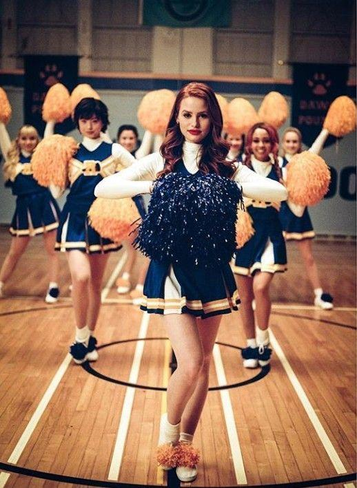 """<p>Become members of the River Vixens from <em>Riverdale</em> by donning their trademark yellow-and-blue cheerleading uniform. </p><p><a class=""""link rapid-noclick-resp"""" href=""""https://www.amazon.com/Riverdale-Cheerleader-Costume-Outfit-M/dp/B072VQ89WN?tag=syn-yahoo-20&ascsubtag=%5Bartid%7C10070.g.3083%5Bsrc%7Cyahoo-us"""" rel=""""nofollow noopener"""" target=""""_blank"""" data-ylk=""""slk:SHOP CHEERLEADING UNIFORMS"""">SHOP CHEERLEADING UNIFORMS</a></p>"""