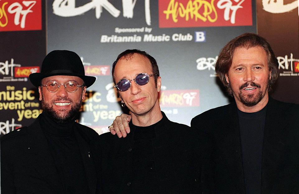 Clive Anderson managed to annoy The Bee Gees. (Photo by Brian Rasic/Getty Images)