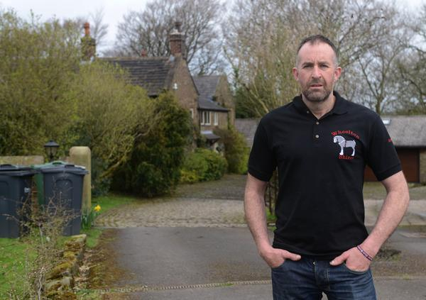 He has been denied planning permission to build a horse shed (SWNS)