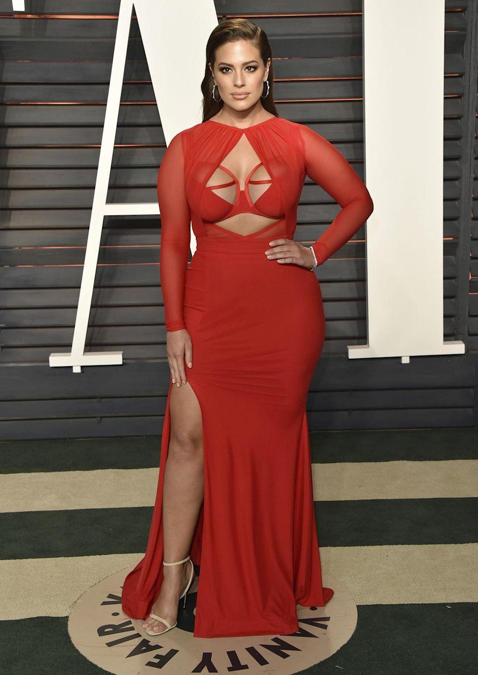 <p>Vanity Fair Oscar Party, 2016: OK, we can all go home because Ashley's has just killed it.</p>
