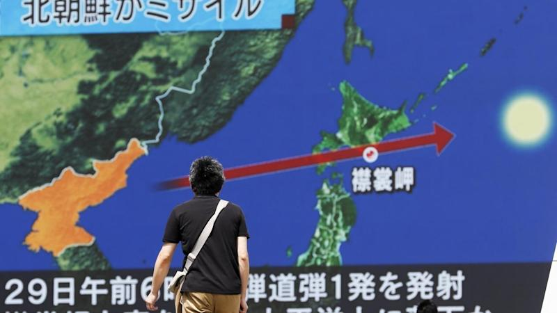 North Korea sent a ballistic missile over northern Japan, the latest in its nuclear weapon tests.