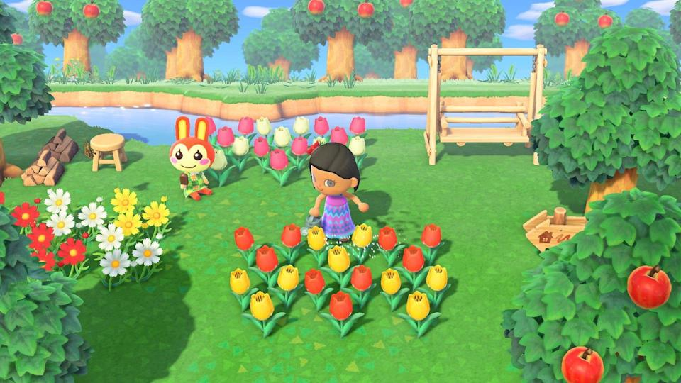 """Many Americans spent lots of time playing video games such as """"Animal Crossing: New Horizons"""" during the COVID-19 pandemic."""