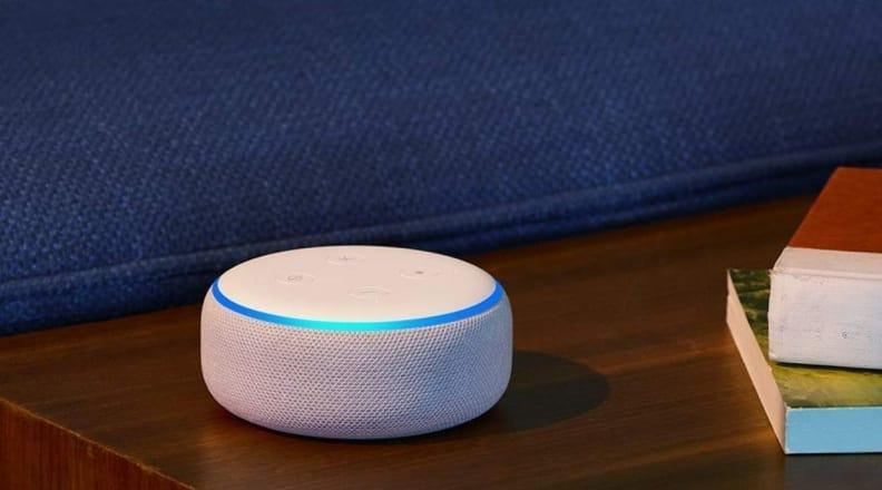 The compact Echo Dot can read books, play music and even help with to-do lists.
