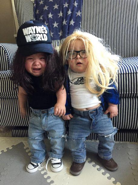 PHOTO: In 2016, Charlie Willis and his brother, Row Willis went as Garth and Wayne of 'Wayne's World.' (Lauren Willis)