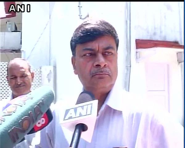 Union Minister RK Singh speaking to ANI in New Delhi on Wednesday. Photo/ANI