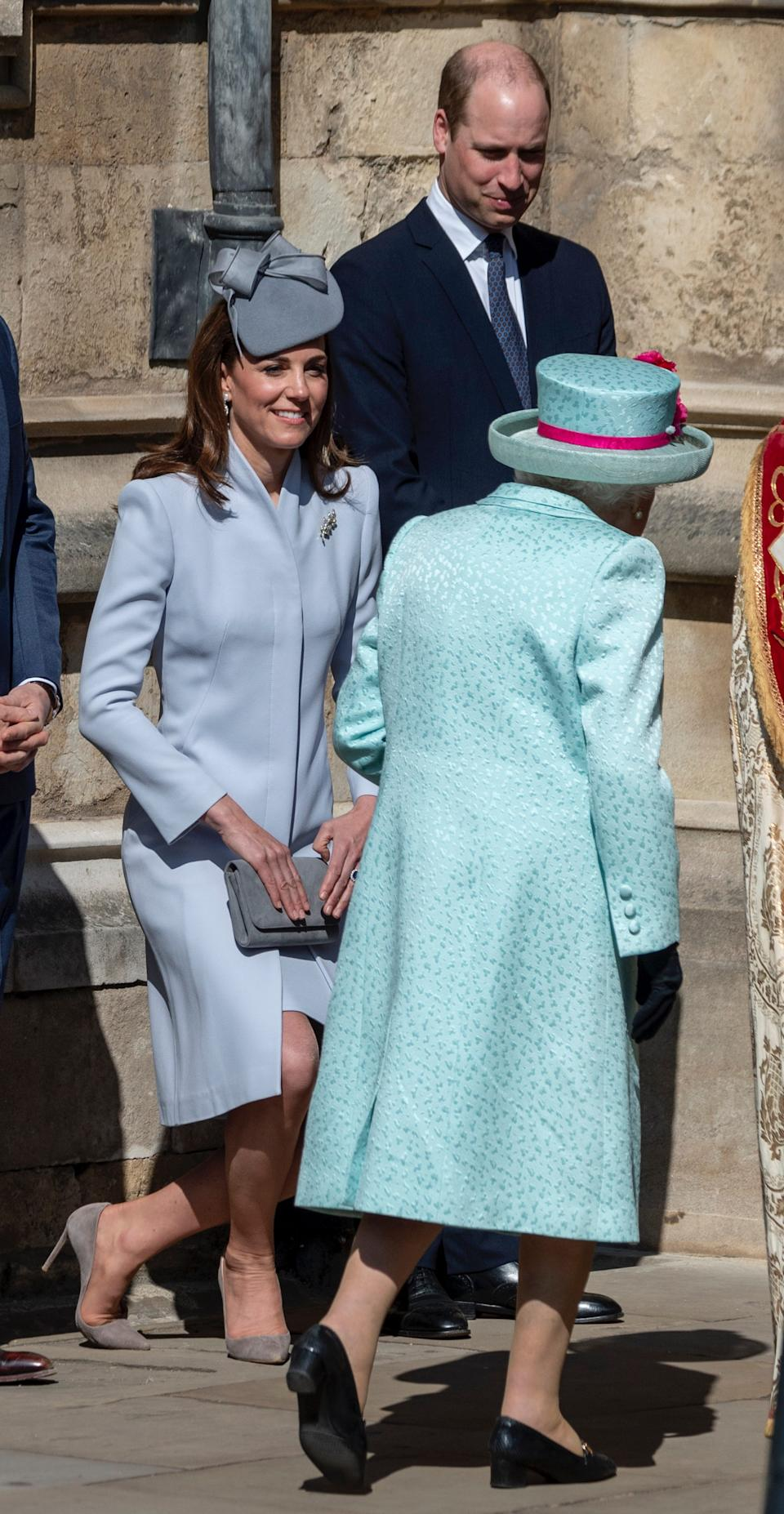 Kate Middleton curtsy