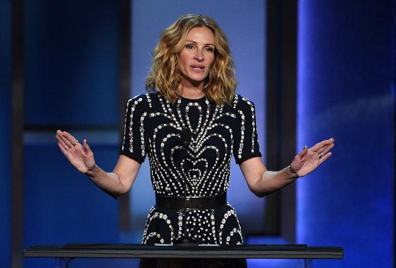 "A studio executive once reportedly suggested that ""Pretty Woman"" star Julia Roberts should play the lead role in a Harriet Tubman biopic. (Photo: Chris Pizzello/Invision/AP)"