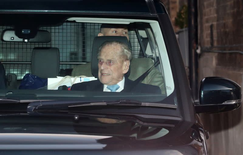 Prince Philip, Queen Elizabeth's husband, leaves hospital in time for Christmas