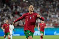 Cristiano Ronaldo scored twice from the spot in Portugal's 2-2 draw with France in the group stage