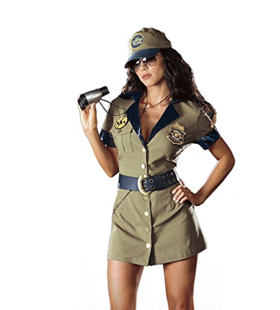 Border Patrol costumes have been controversial choices in recent years. (Photo: Amazon)