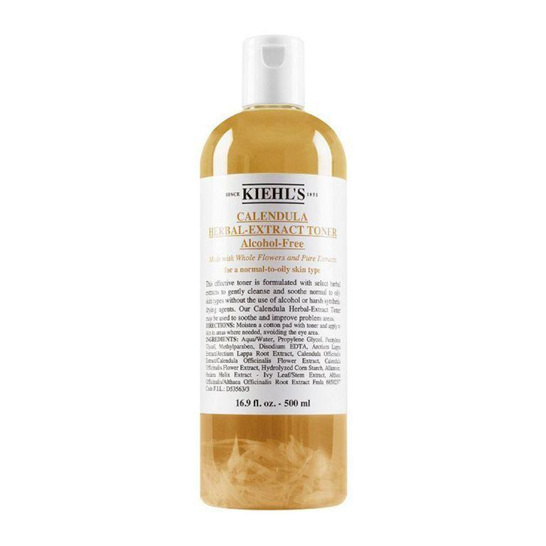 """<p><strong>Kiehl's</strong></p><p>nordstrom.com</p><p><strong>$40.00</strong></p><p><a href=""""https://go.redirectingat.com?id=74968X1596630&url=https%3A%2F%2Fshop.nordstrom.com%2Fs%2Fkiehls-since-1851-calendula-herbal-extract-alcohol-free-toner%2F2927888&sref=https%3A%2F%2Fwww.bestproducts.com%2Fbeauty%2Fg249%2Ffacial-toners-for-every-skin-type%2F"""" rel=""""nofollow noopener"""" target=""""_blank"""" data-ylk=""""slk:Shop Now"""" class=""""link rapid-noclick-resp"""">Shop Now</a></p><p>Another iconic toner worth trying, Kiehl's Calendula Herbal Extract Toner will do good things to your skin thanks to its powerhouse, anti-inflammatory ingredients like <a href=""""https://www.healthline.com/health/calendula-oil"""" rel=""""nofollow noopener"""" target=""""_blank"""" data-ylk=""""slk:calendula"""" class=""""link rapid-noclick-resp"""">calendula</a>. </p><p>This one helps to combat redness, oily skin, and uneven texture, making it a true triple threat. Trust us — it's worth a spot in your daily skincare routine.</p>"""
