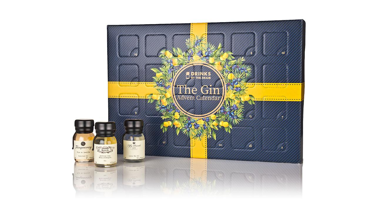 "<p>Indulge in 24 days of one of Britain's best loved treasures: gin. This selection includes award-winning varieties as well as intriguing botanicals, like a Seville orange infused blend. Available from <a rel=""nofollow"" href=""https://www.masterofmalt.com/gin/drinks-by-the-dram/gin-advent-calendar-themed/?srh=1""><em>Master of Malt</em></a>. </p>"