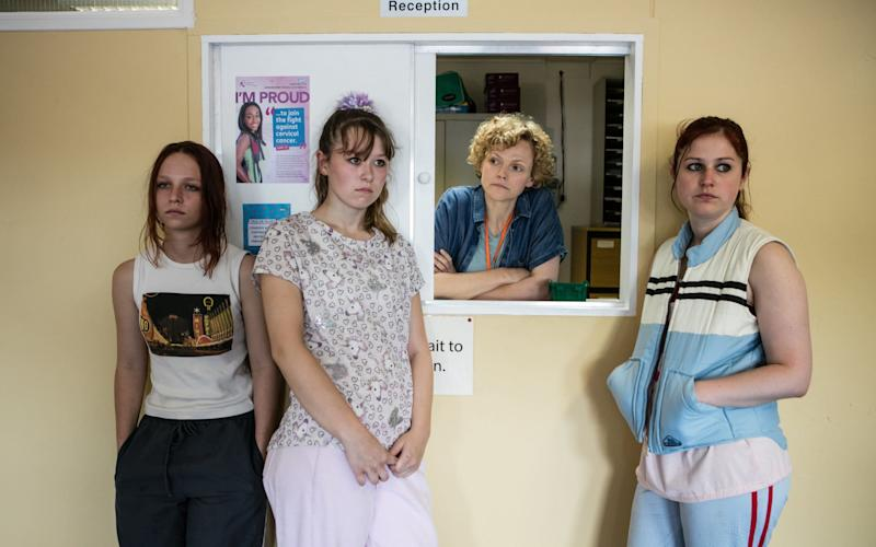 Molly Windsor, Liv Hill, Maxine Peake and Ria Zmitrowicz in Three Girls - 1