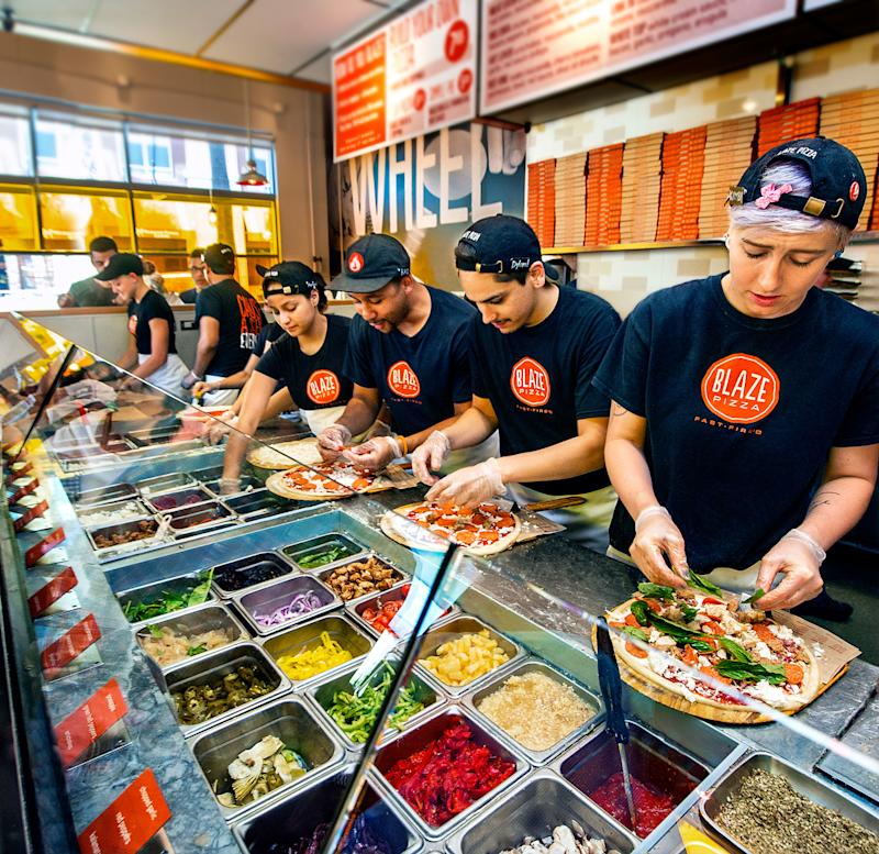 Meet Blaze, the Chipotle of Pizza That Could Unseat Pizza Hut