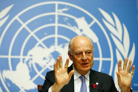 United Nations  sees direct Syria talks soon but not pushing for it