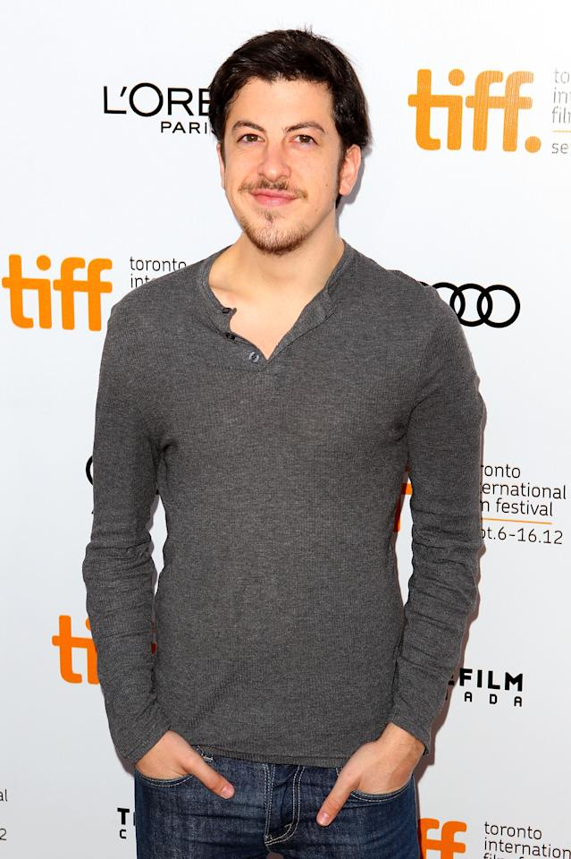 """TORONTO, ON - SEPTEMBER 10:  Actor Christopher Mintz-Plasse attends the """"Hyde Park On Hudson"""" premiere during the 2012 Toronto International Film Festival at Roy Thomson Hall on September 10, 2012 in Toronto, Canada.  (Photo by Joe Scarnici/Getty Images)"""