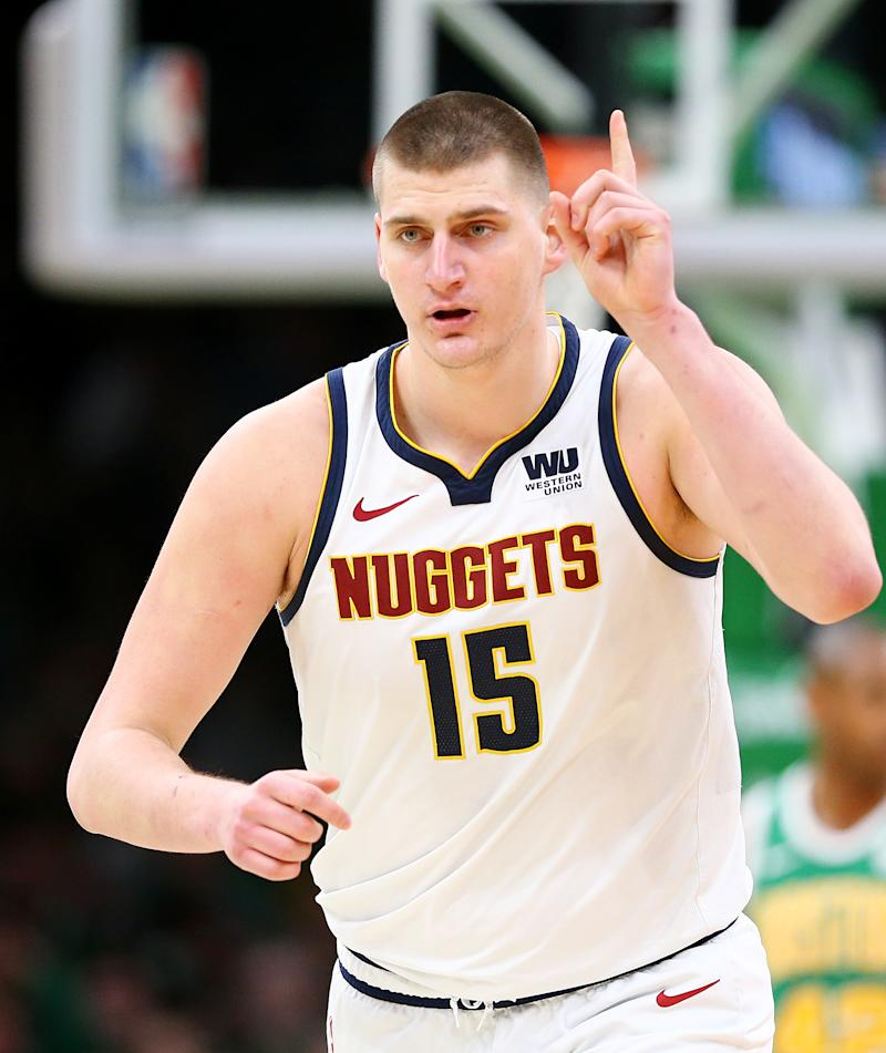 Nuggets Quarter Season Tickets: Nuggets Clinch Playoff Berth With 114-105 Win Over Celtics
