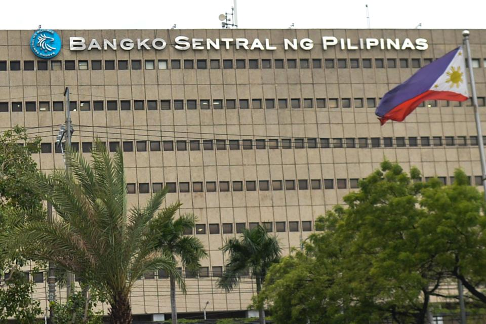 A general view of the central bank of the Philippines building located in  On Sunday, June 30, 2019, in Manila, Philippines. (Photo by Artur Widak/NurPhoto via Getty Images)