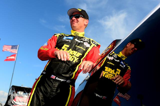 Clint Bowyer is chasing a win, but knows that points matter too