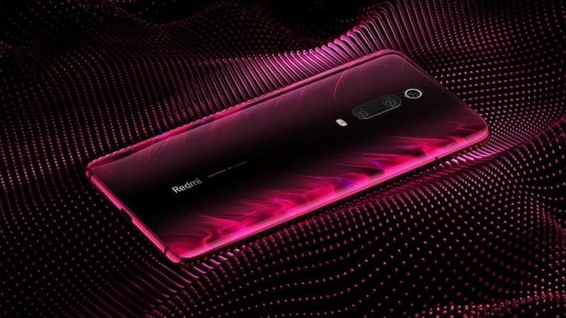 Redmi K20 Pro with the Aura Prime back