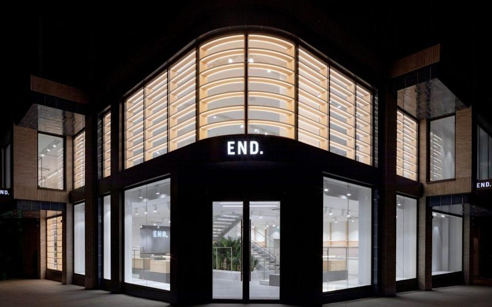 END has launched stores in Glasgow and London's Soho over the past five years