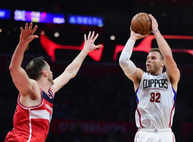 Blake Griffin scored 36 points in a 115-104 win over the Lakers that gave coach Doc Rivers his 800th career win as the LA Clippers improved to 47-31