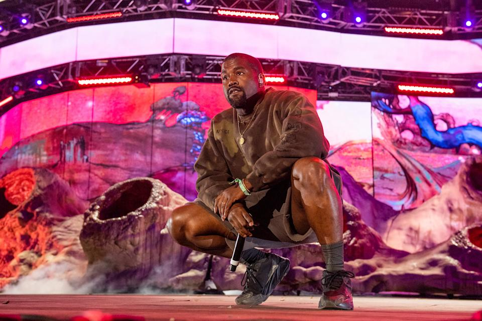 Kanye West gave his first lengthy interview in months while promoting his new album. (Photo: Timothy Norris/Getty Images)