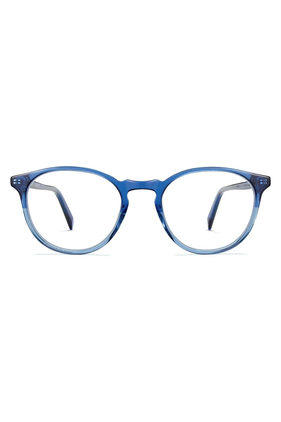 """<p><strong>Warby Parker</strong></p><p>warbyparker.com</p><p><strong>$95.00</strong></p><p><a href=""""https://go.redirectingat.com?id=74968X1596630&url=https%3A%2F%2Fwww.warbyparker.com%2Feyeglasses%2Fwomen%2Fbutler%2Fshoreline-fade&sref=https%3A%2F%2Fwww.elle.com%2Ffashion%2Fshopping%2Fg33955592%2Fgifts-for-book-lovers%2F"""" rel=""""nofollow noopener"""" target=""""_blank"""" data-ylk=""""slk:Shop Now"""" class=""""link rapid-noclick-resp"""">Shop Now</a></p><p>Their eyes need a little love. </p>"""