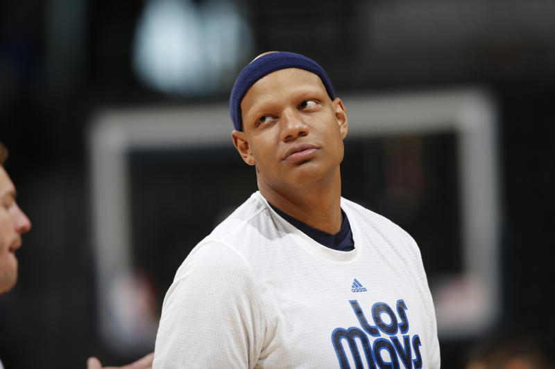 Help Charlie Villanueva find his toilet