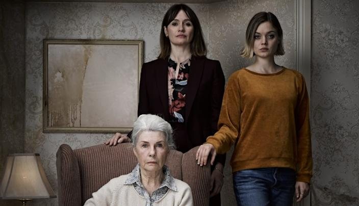 """Robyn Nevin as Edna, from left, Emily Mortimer as Kay and Bella Heathcote as Sam in Natalie Erika James' """"Relic,"""" an IFC Midnight release. <span class=""""copyright"""">(IFC Midnight)</span>"""