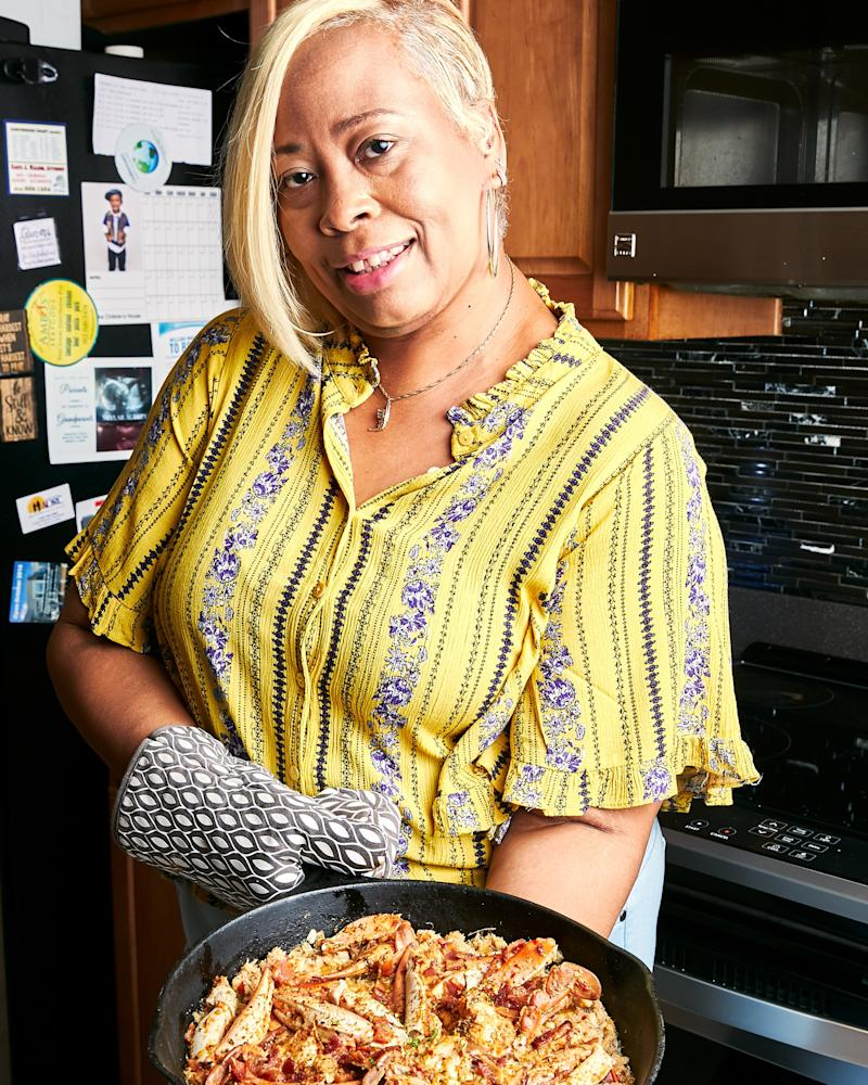 Gina Capers-Willis runs a contemporary Gullah catering business in Savannah called What's Gina Cooking?