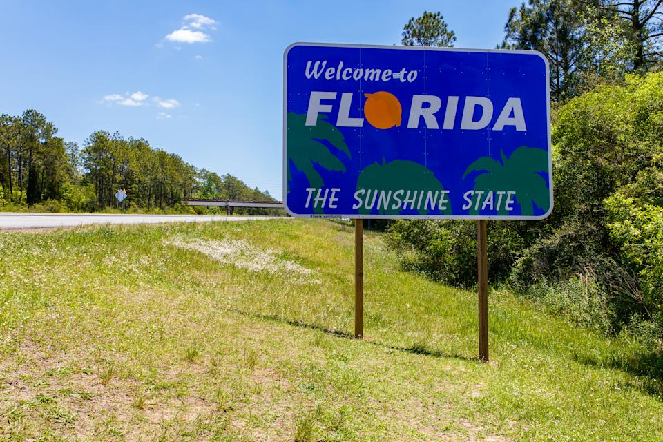 The Sunshine State is the home to seven of the ten fastest-growing mid-sized cities for retirees. (Photo: Getty)