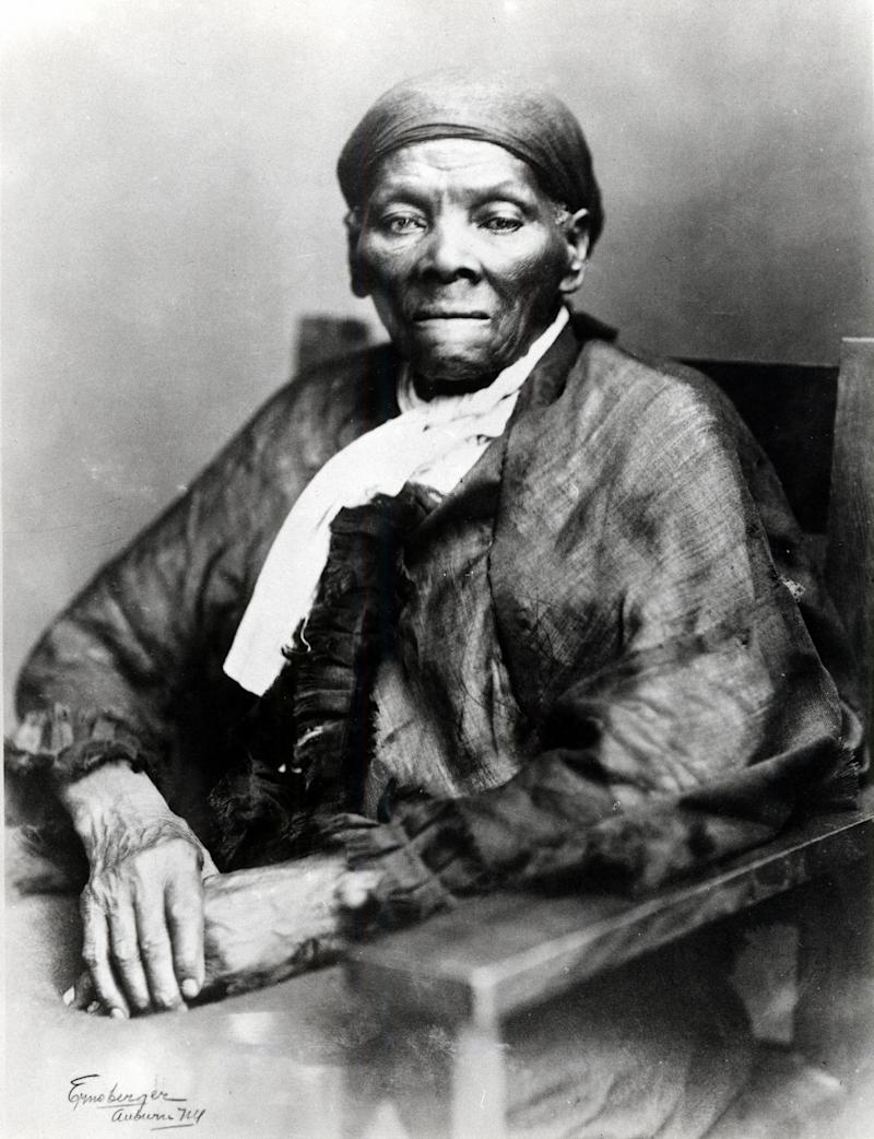 Portrait of abolitionist Harriet Tubman