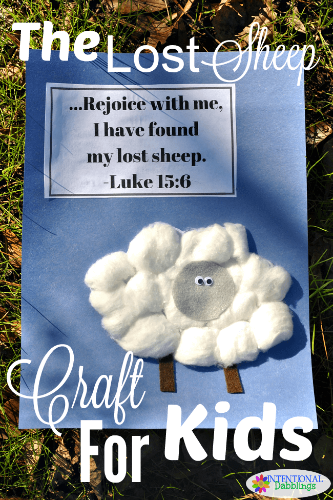 """<p>Teach your kids about the sweet story of the lost sheep with this craft as you prepare for Easter.</p><p><strong>Get the tutorial at <a href=""""http://www.intentionaldabblings.com/lost-sheep-craft/"""" rel=""""nofollow noopener"""" target=""""_blank"""" data-ylk=""""slk:Intentional Dabblings"""" class=""""link rapid-noclick-resp"""">Intentional Dabblings</a>.</strong></p><p><strong><strong><a class=""""link rapid-noclick-resp"""" href=""""https://www.amazon.com/Colorations-BRITESTK-Bright-Construction-Paper/dp/B00826ENU2/?tag=syn-yahoo-20&ascsubtag=%5Bartid%7C10050.g.30928377%5Bsrc%7Cyahoo-us"""" rel=""""nofollow noopener"""" target=""""_blank"""" data-ylk=""""slk:SHOP CONSTRUCTION PAPER"""">SHOP CONSTRUCTION PAPER</a></strong><br></strong></p>"""