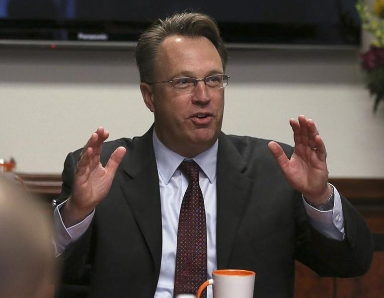 San Francisco Federal Reserve Bank President Williams speaks during an interview with Reuters in Washington