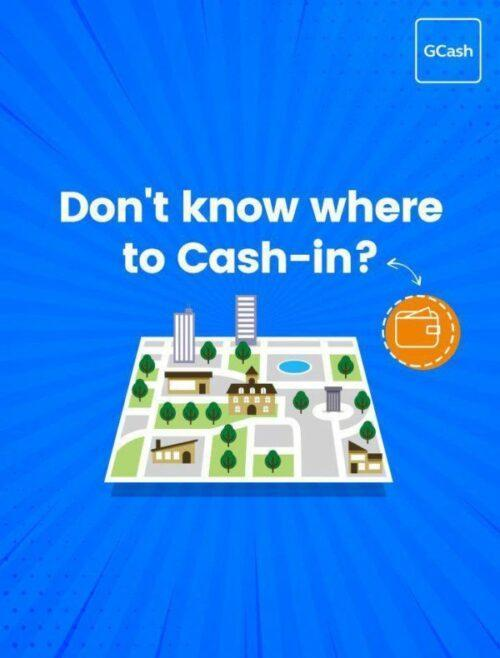 how to use gcash - cash in wallet