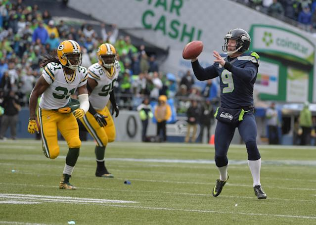 Seahawks' punter Jon Ryan is likely the first CIS player to throw an NFL playoff touchdown